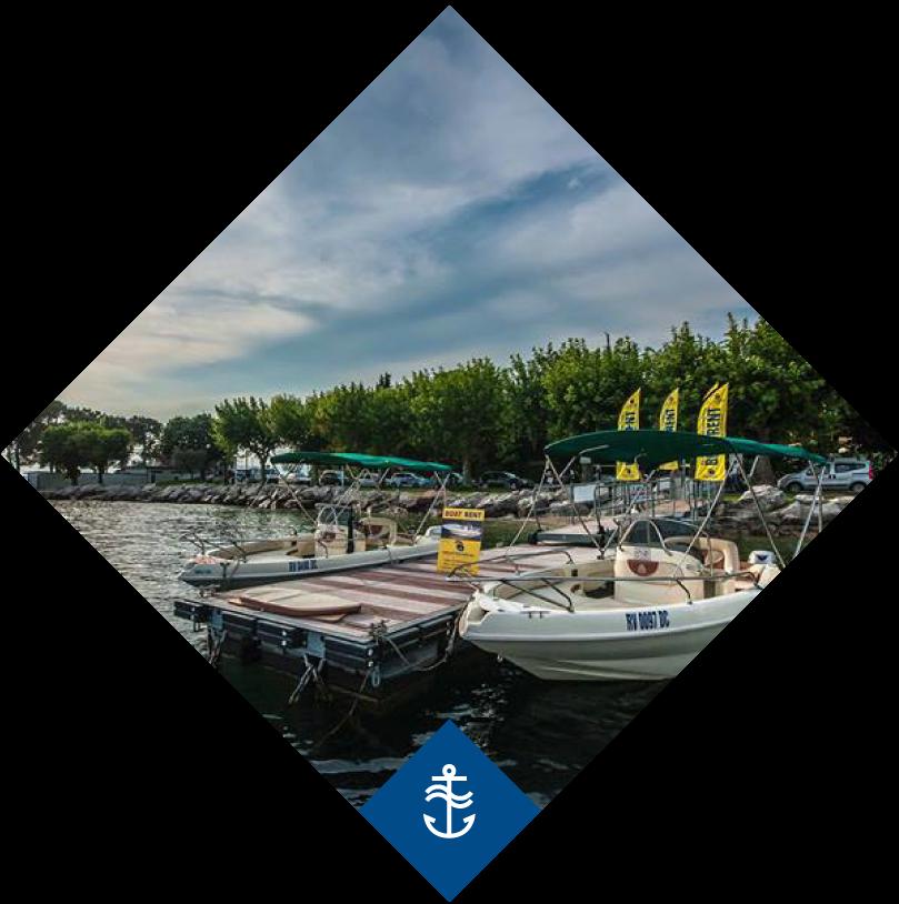 Boat Garda Pier Bardolino