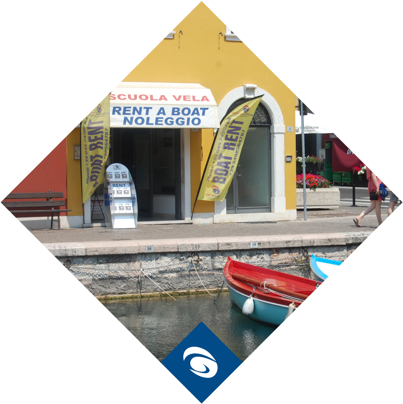 Boat Garda Parking Bardolino
