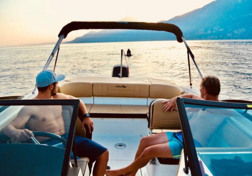 Rent a Boat Sea Ray 210 SPX0 Garda Lake