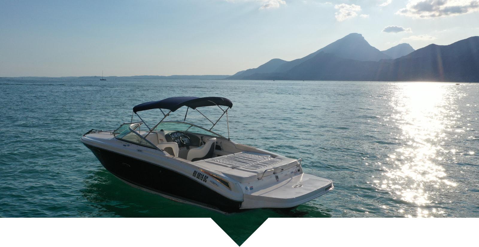 Boot Mieten Gardasee Bardolino Castelletto
